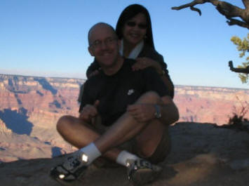 Ben and Wanda Hart at Grand Canyon